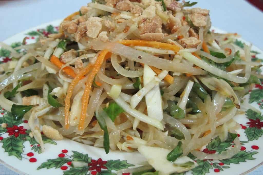 Mít Trộn món ăn bình dân của Đà Nẵng
