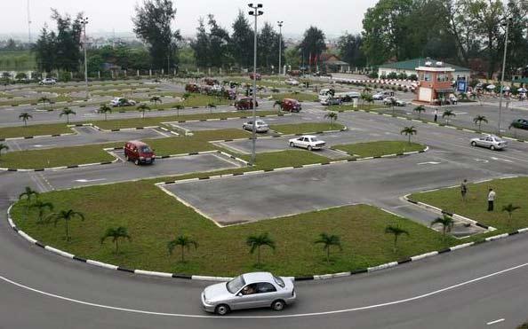 Trung tâm dạy lái xe ô tô Masco có hệ thống sân bãi đạt chuẩn chất lượng