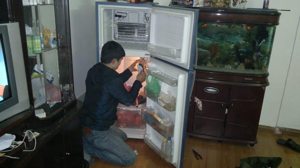 Chấm dứt nỗi lo hư hỏng tủ lạnh cùng Kim Phú