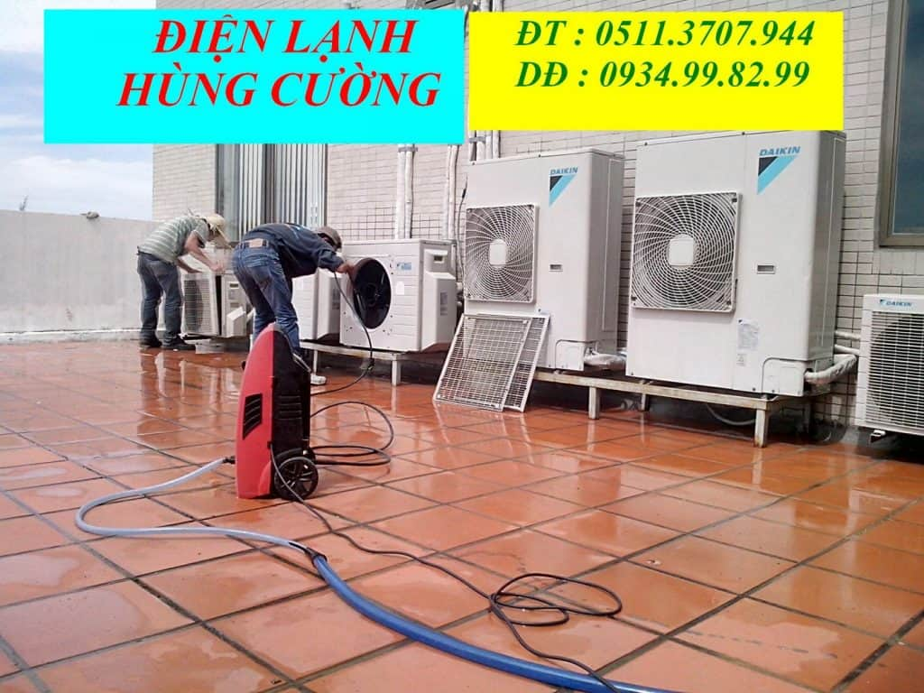 Điện lạnh Hùng Cường - Dịch vụ sửa chữa điện lạnh có tâm