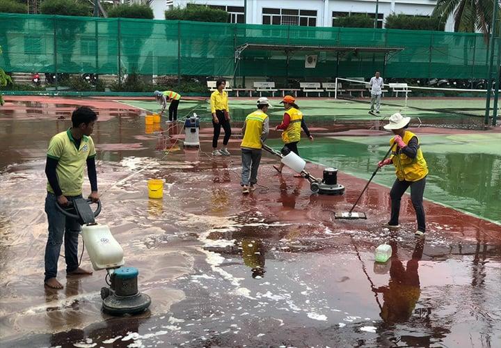Ánh Sao Sáng - Dịch vụ vệ sinh sau xây dựng tại Nha Trang hàng đầu