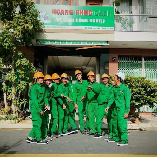 Dịch vụ vệ sinh công nghiệp Hoàng Phúc tại Nha Trang