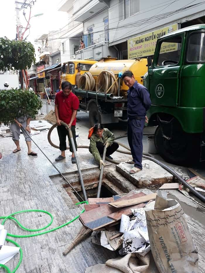 Vương Gia Huy - Hút hầm cầu Nha Trang chất lượng